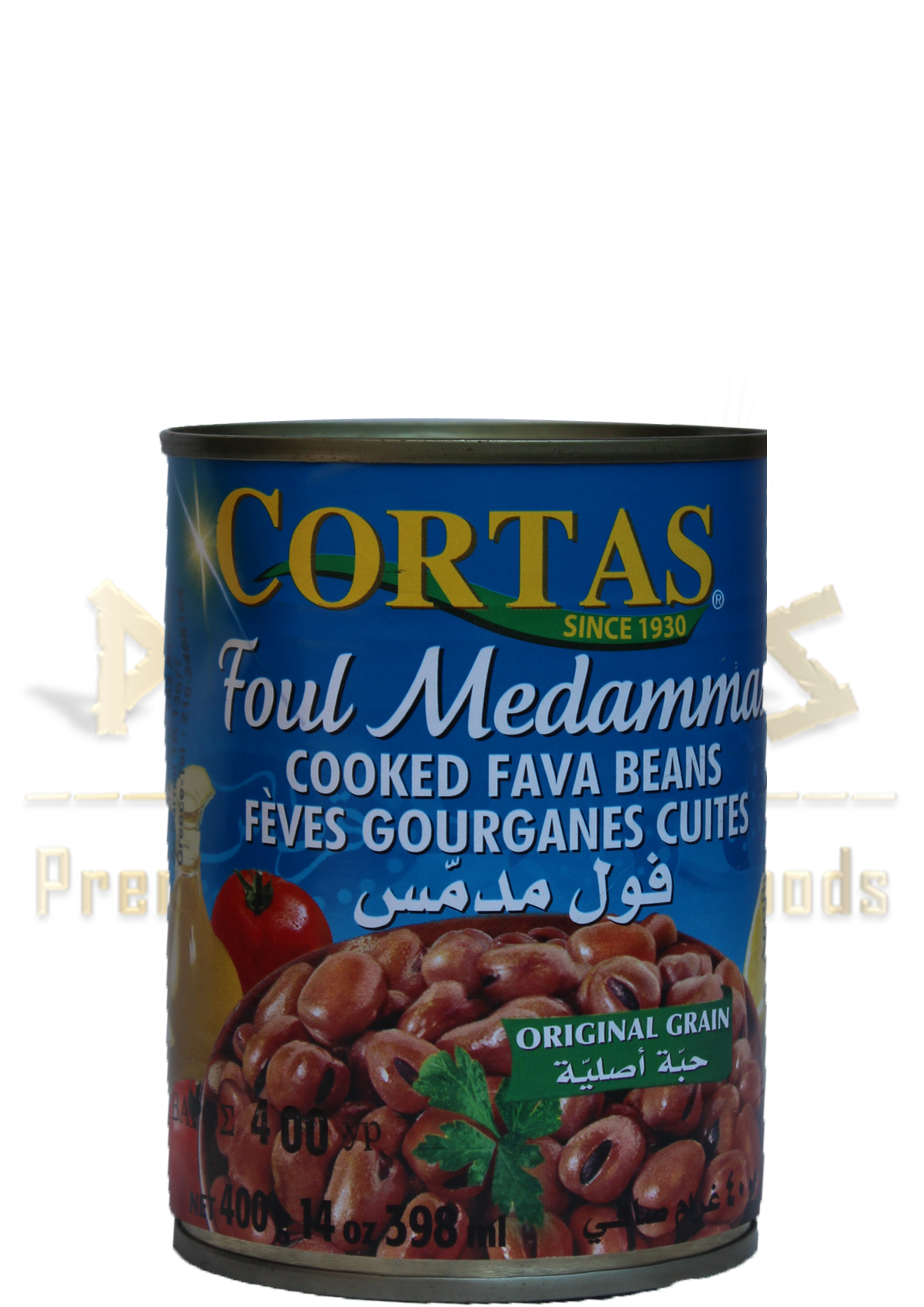 cooked fava beans